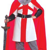 Disfraz medieval cruzado
