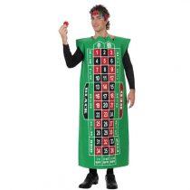 Disfraz de hombre tablero de ruleta