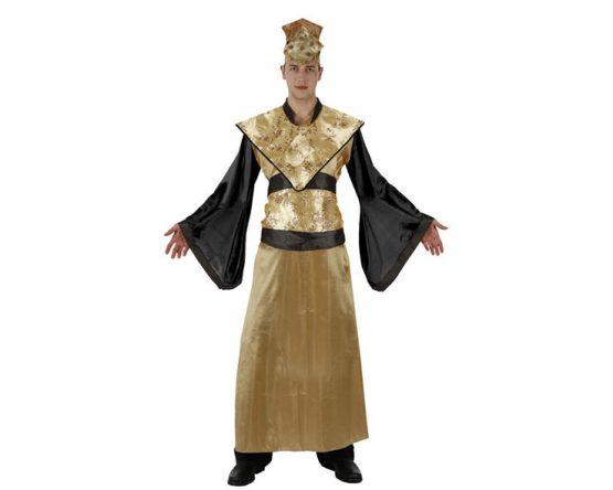 Disfraz de emperador asiático