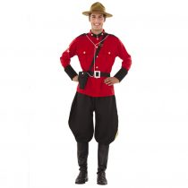 Disfraz de Policía Montada de Canadá