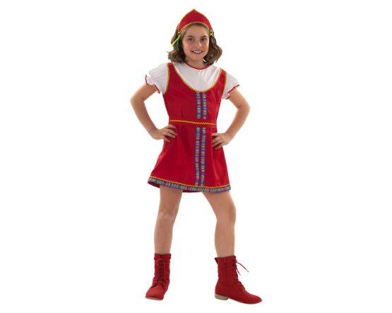 Disfraz de Rusa