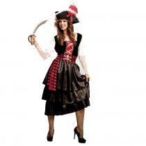 Disfraz de pirata glamurosa