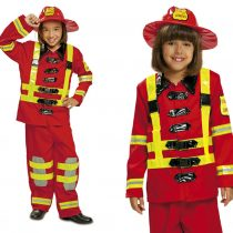 Disfraz de bombero unisex