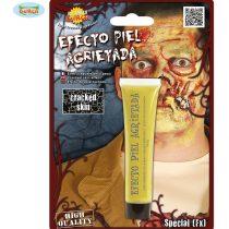 Maquillaje efecto piel agrietada zombie