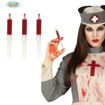 Blister tres jeringuillas sangre