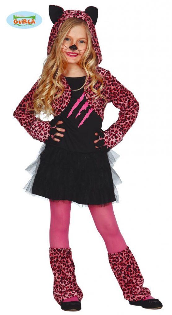 Disfraz Leoparda rosa