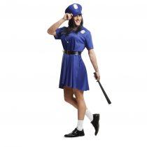 Disfraz Mujer Policía para hombre