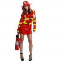 Disfraz de mujer bombera
