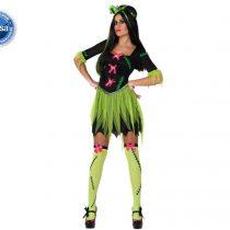 Disfraz chica Frankenstein
