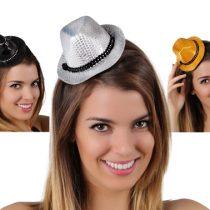 Sombrero mini lentejuelas