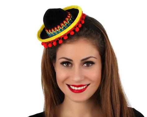 Mini sombrero mexicano