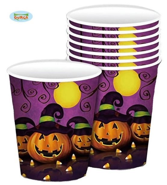 Vasos decorados Halloween