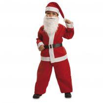 Disfraz de Papá Noel de terciopelo
