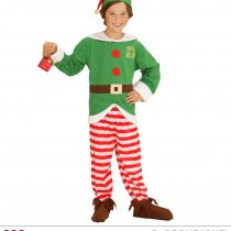 Disfraz de elfo ayudante de Papá Noel