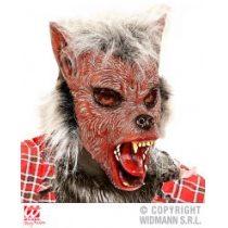 Máscara Hombre Lobo con pelo para niño
