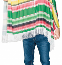 Disfraz Poncho Mejicano