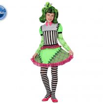 Disfraz Frankenstein para niña