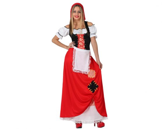 Disfraz Aldeana para mujer