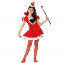 Disfraz Reina Corazones para niña