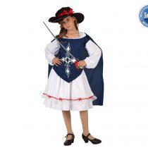 Disfraz Mosquetera para niña