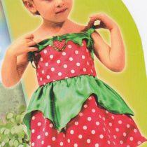 Disfraz Fresa para niña