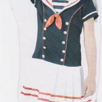 Disfraz Marinera para niña