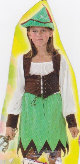 Disfraz Arquera para niña