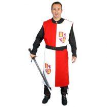 Sobrevesta medieval cuartelada Cid