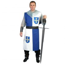 Sobrevesta medieval cuartelada Eamon