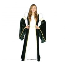 Traje medieval mujer Blanca Velvet