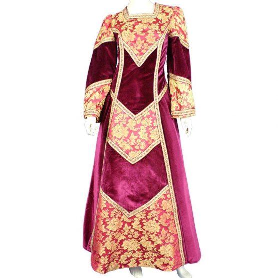 Vestido medieval de mujer Mod. Elvira