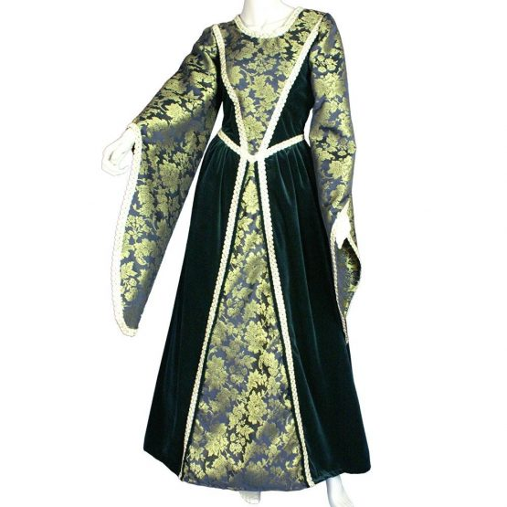Vestido medieval de mujer Sofia
