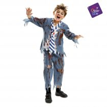 Disfraz Estudiante Zombie para niño