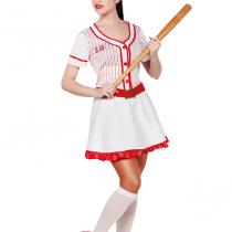 Disfraz Jugadora de Beisbol para mujer