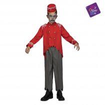 Disfraz Conserje Zombie para niño
