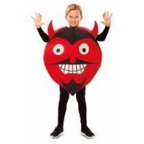 Disfraz Emoticono Diablo o Demonio para niños