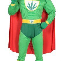 Disfraz Superhéroe Marihuana