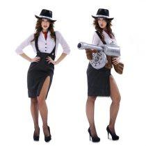 Disfraz Mujer Ganster