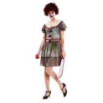Disfraz Payasa Diabolica