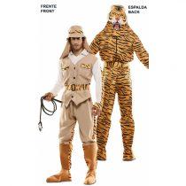 Disfraz DOUBLE FUN! Cazador-Tigre