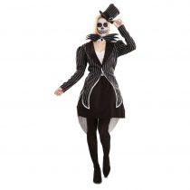 Disfraz Esqueleto Elegante
